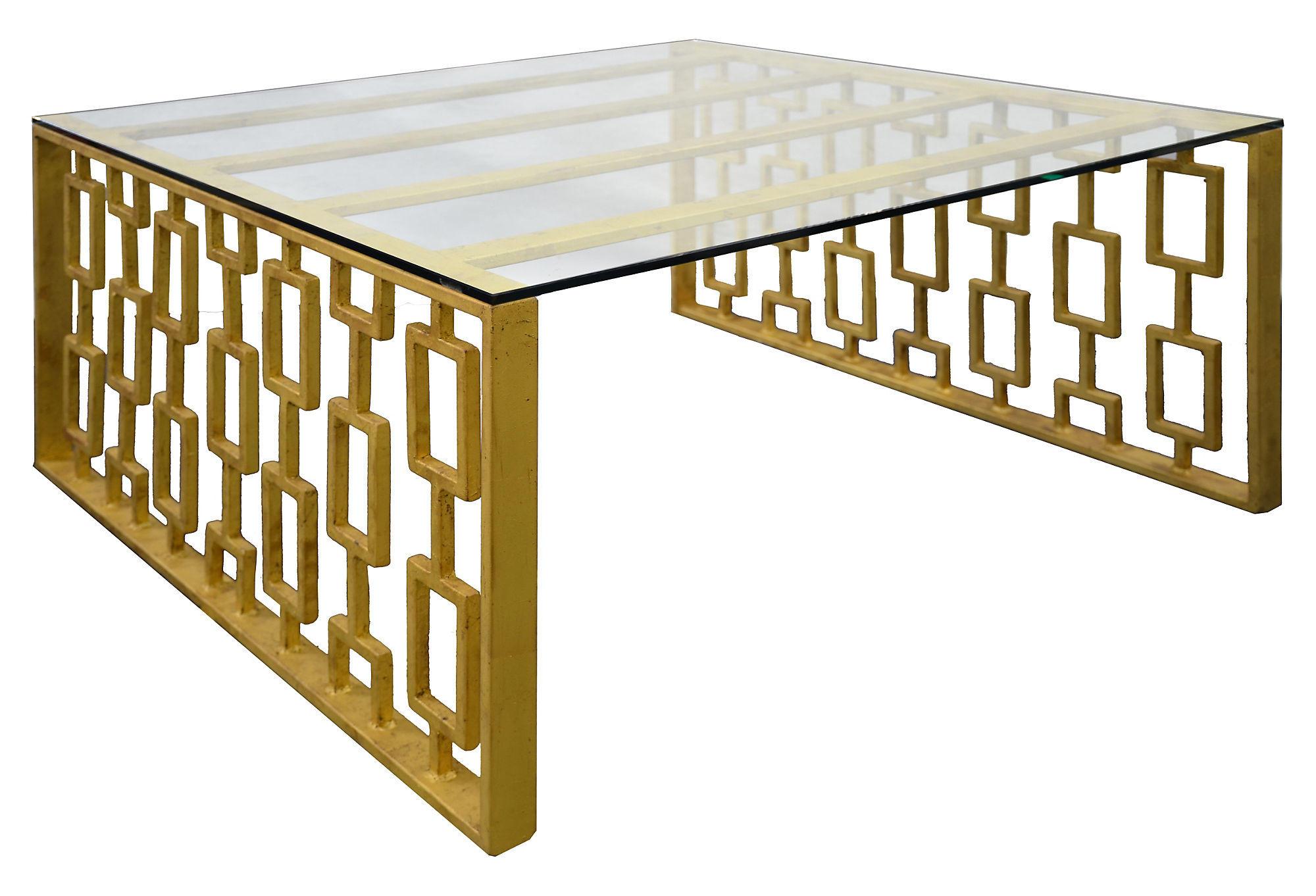 Prism 36 Square Coffee Table Gold From One Kings Lane Things