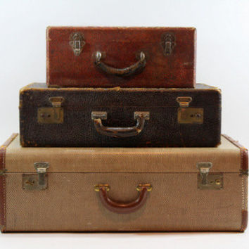 Best old luggage products on wanelo - Vintage suitcase ...