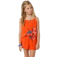 O'Neill Girls - Josephine Romper | Orange