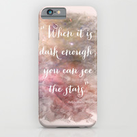 Dark Enough iPhone & iPod Case by Mockingbird Avenue