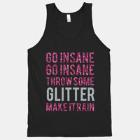 Throw Some Glitter Tank Shirt