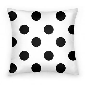 Best black and white polka dot decor products on wanelo for Black and white polka dot decorations