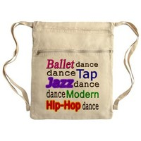 Dance Styles (#1) Cinch Sack