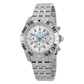Invicta Signature II Chronograph Silver Dial Mens Watch 7302