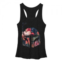 Star Wars Boba Floral Tank (Women's)