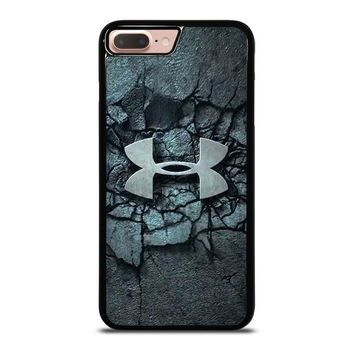 under armour logo smash iphone 8 plus case cover  number 2