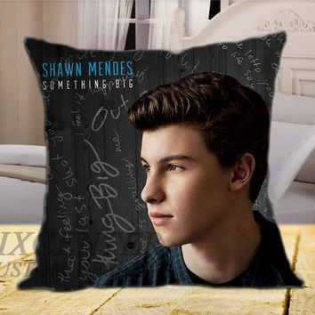 Shawn Mendes EP on Square Pillow Cover