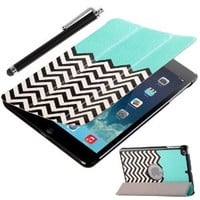 iPad Mini Case - ULAK Slim Trifold Smart Cover Case Stand for iPad Mini 1/2/3 (Pattern-FOLLOW THE SKY)
