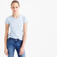 Short-sleeve painter T-shirt in stripe : Women knits | J.Crew