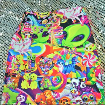SWEET LORD O'MIGHTY! THE LISA FRANK STICKER SKIRT