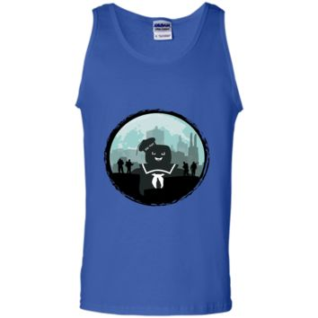 Ghostbusters Versus the Stay Puft Marshmallow  Character  T-shirt