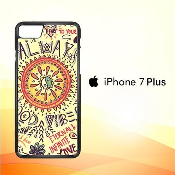 American Hippie Psychedelic L1340 iPhone 7 Plus Case