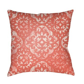 Yindi Pillow Cover - Bright Orange, Pale Pink, Bright Pink, Coral - YN015