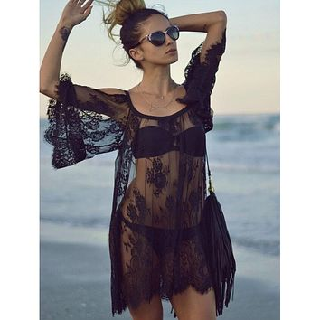 Vintage Beach Dress Cover Up