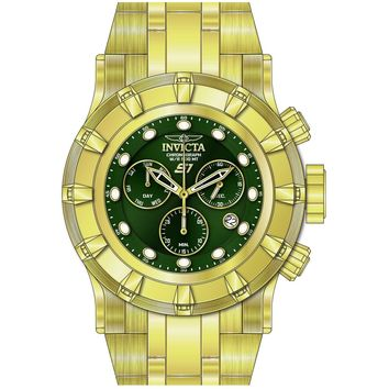 Invicta Men's 23956 S1 Rally Quartz Chronograph Green Dial Watch