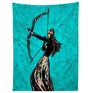 The Archer wall tapestry