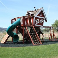 Mackeys Mansion Tree House : Luxury Playhouses at PoshTots