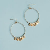 Fiesta Nights Earrings - Gold