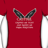 Castiel Gripped Me Tight Women's T-Shirt