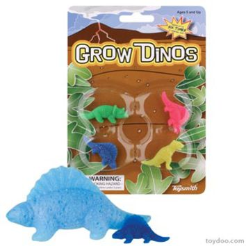 Grow Dinosaurs - Toysmith - Pack of 24 sets