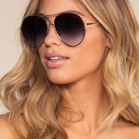 Groove With Me Sunglasses - Purple