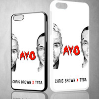 chris brown X tyga ayo Y0087 iPhone 4S 5S 5C 6 6Plus, iPod 4 5, LG G2 G3, Sony Z2 Case