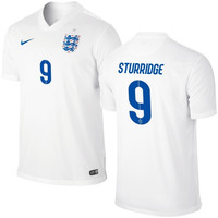 Sturridge #9 England Nike 2014 World Soccer Replica Home Jersey- White - http://www.shareasale.com/m-pr.cfm?merchantID=7124&userID=1042934&productID=541930111 / England