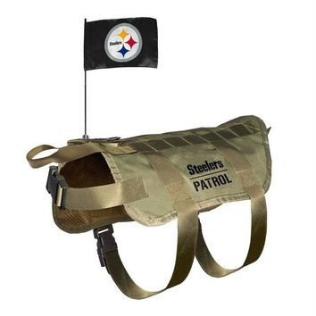 Chenier Pittsburgh Steelers Pet Tactical Vest