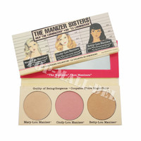 NEW Brand Balm Makeup The Sisters Power /Mary /Cindy/ Betty Bronzer & Highlighter LOU Shimmer Cosmetics eyeshadow makeup Palette