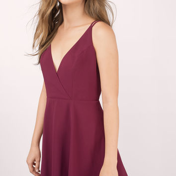 Casey Cross Back Skater Dress