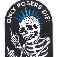 Poser Back Patch (Limited Edition)