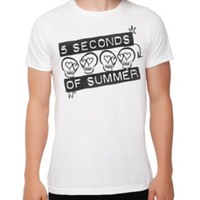 5 Seconds Of Summer Skulls T-Shirt
