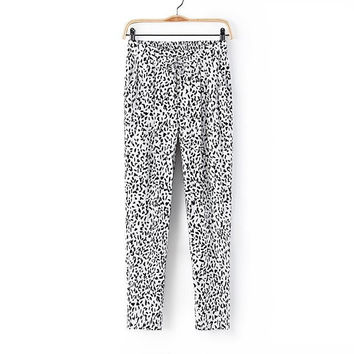 Summer Print Casual Women's Fashion Pants [4919975044]