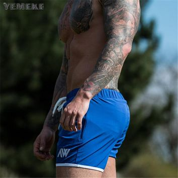 Summer Shorts Men Fashion High Quality Bottom Short Male Breathable Solid Colors Beach Shorts Men's Short