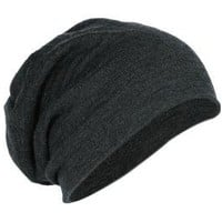 Amazon.com: District Slouch Beanie - Charcoal Heather: Clothing