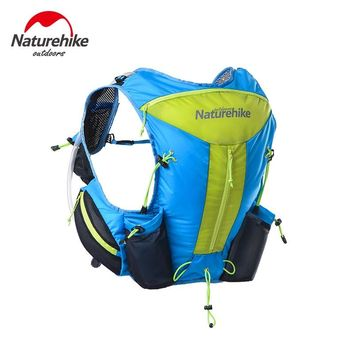 Naturehike Outdoor vest style running sports riding bag Waterproof Rucksack Cycling Camping Backpack outdoor hydration bag