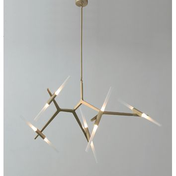 Agnes Chandelier - 10 Bulbs - Reproduction