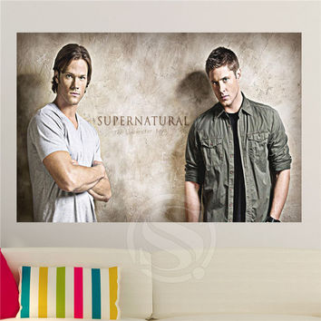 Supernatural Home Decor Poster Print Wall Sticker