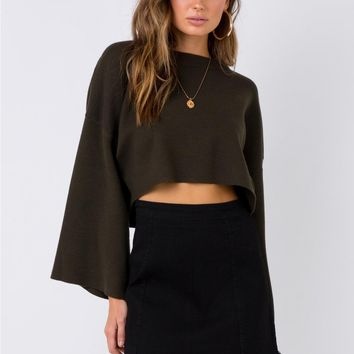 Molly Lou Mini Skirt Black