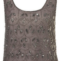 Paisley Embellished Crop Vest - New In This Week  - New In
