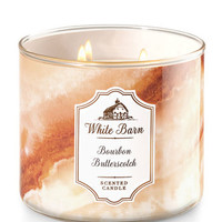 Bourbon Butterscotch 3-Wick Candle - White Barn | Bath And Body Works