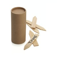Set of 25 Wood Plant Markers