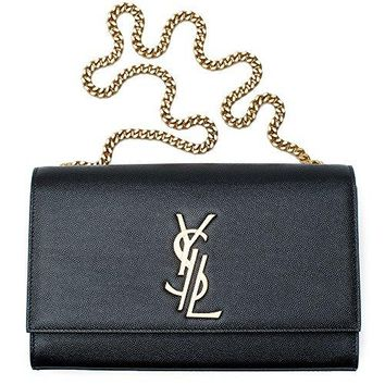 Yves Saint Laurent Kate Black Shoulder Bag Classic New  YSL bag