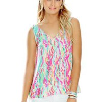 Cipriani V-Neck Top - Lilly Pulitzer