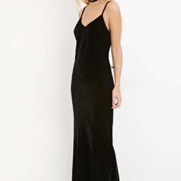 Contemporary Velvet Cami Dress