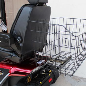 Mega Shopping Rear Basket J1100 - Challenger Accessories Rear Baskets | TopMobility.com