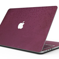 50 Shades of Burgandy Micro Hearts - MacBook Pro with Retina Display Full-Coverage Skin Kit