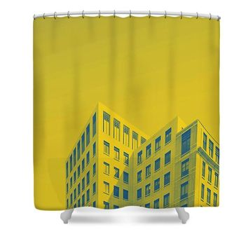 Urban Architecture   Canary Wharf, London  United Kingdom 4a - Shower Curtain