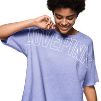 Oversized Slouchy Tee - PINK - Victoria's Secret