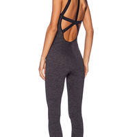 koral activewear Stealth Jumpsuit in Charcoal